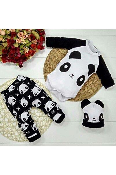 Miniworld Miniworl Baby Pandalı Lüx Zıbın Takım M307