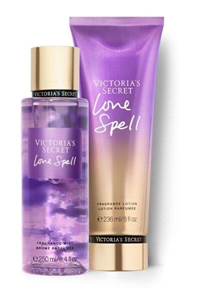 Victoria's Secret Love Spell New Collection Vücut Spreyi,vücut Losyonu 2 Li Set