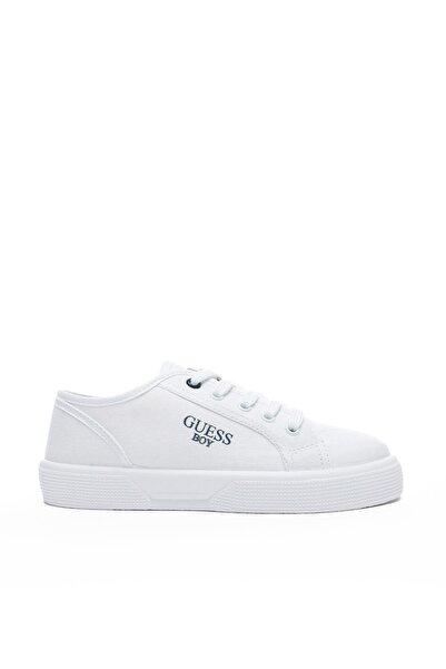 Guess Piumo Çocuk Beyaz Günlük Ayakkabı FI7PIO-S