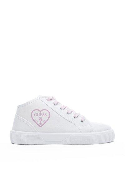 Guess Piuma Mid Çocuk Beyaz Günlük Ayakkabı FI7PAM-S
