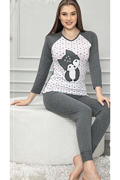 Sude Nakışlı Pijama Takımı