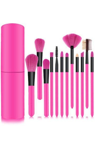 Makeuptime Kiraz Kozmetik Özel Kutulu 12'li Fırça Seti