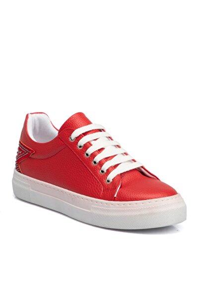 Tergan Kırmızı Kadın Ayakkabı 64470d64