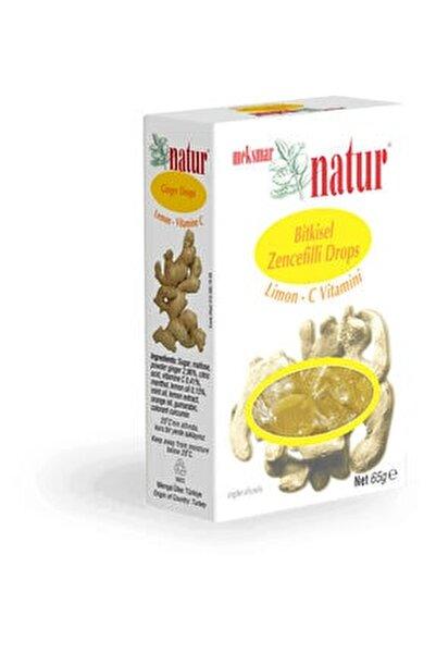 Meksmar Natur Gınger Drops Lemon Vıtamın C 65g Super Urun Pastıldır.ilac Degıldır. Zencefıllı Drops