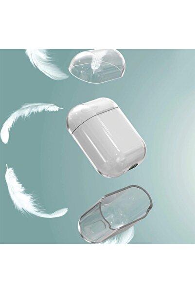 zore Eypo Apple Airpods Kılıf Şeffaf Sert Kılıf Airbag Ultra Korumalı Kılıf Şeffaf Kılıf
