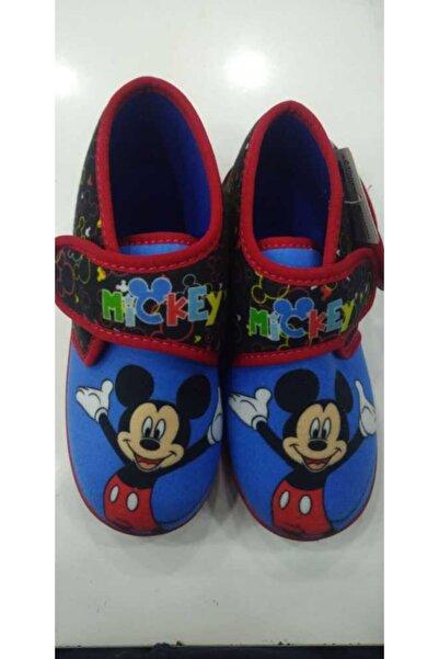 Gigi Erkek Çocuk Mavi Mickey Mouse Panduf
