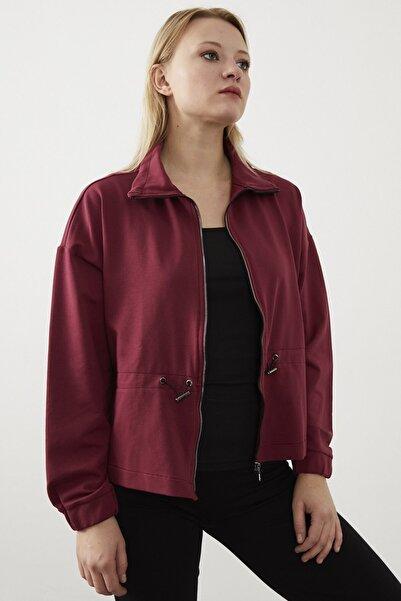 VENA Kadın Vişne Keıra Ceket