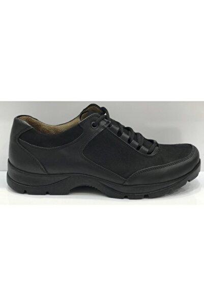Santa Barbara Polo & Racquet Club Erkek Siyah Bağcıklı Ayakkabı
