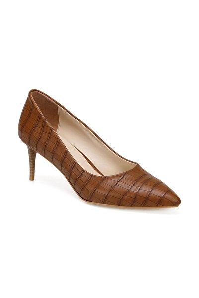 Butigo Ates Kahverengi Kadın Topuklu Ayakkabı