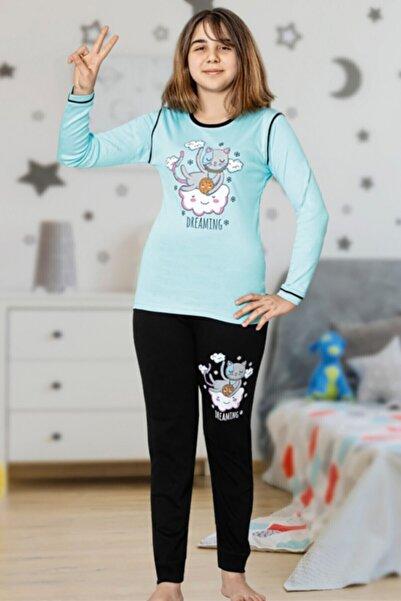 Tarık Kız Çocuk Gez Boy Pijama Takımı