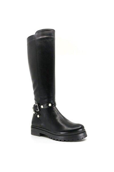 Polaris Kadın Siyah Çizme