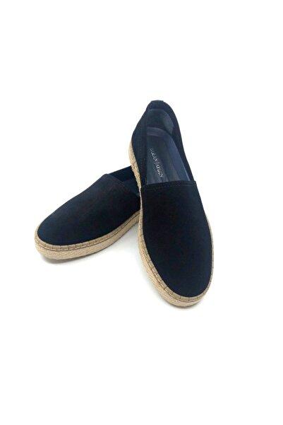 TETRİ Erkek Siyah Hakiki Süet Termo Taban Klasik Ayakkabı