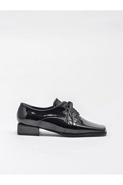 Elle Shoes Kadın Siyah Oxford Ayakkabı