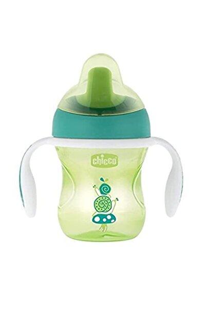 Chicco Yeşil Bardak Suluk Yumuşak Uçlu Eğitim Bardağı 6 Ay