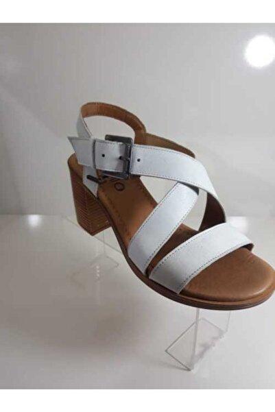 Bella Kadın Beyaz Sandalet