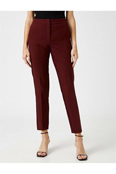 Koton Kadın Düz Renk Cigarette Pantolon