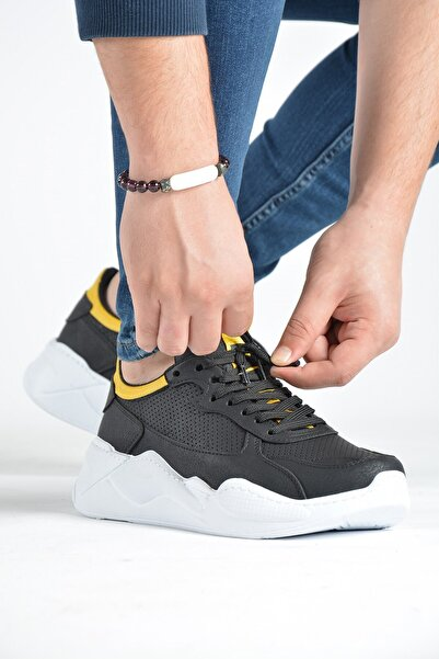 Terapi Men Erkek Siyah Günlük Spor Ayakkabı 20k-1200270-2