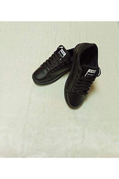 DMR Kadın Siyah Spor Ayakkabı