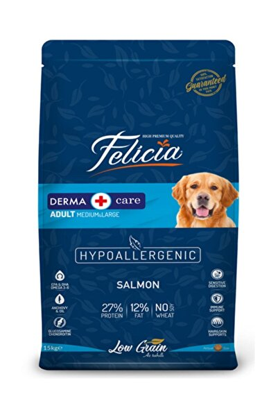 Felicia Az Tahıllı 15 Kg Somonlu Yetişkin Köpek Maması
