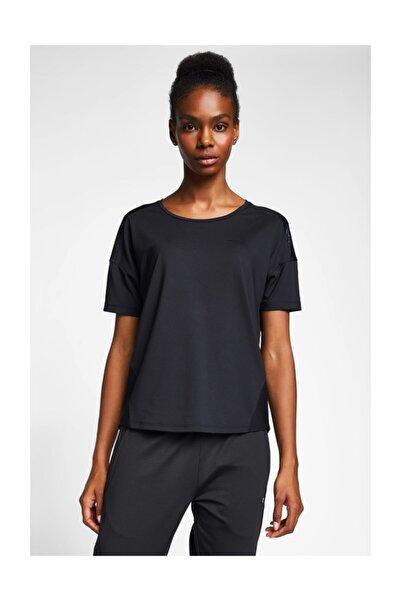Lescon Kadın Siyah T-shirt 20b-2022