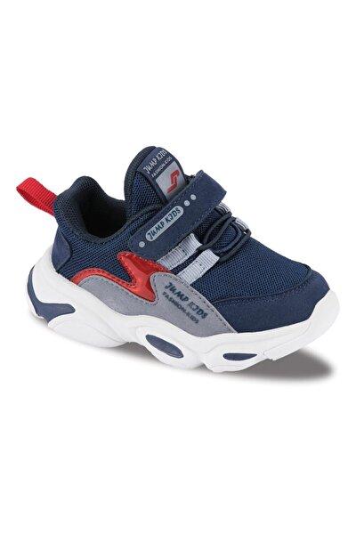 Jump Çocuk Spor Ayakkabı 25833 C Navy/red