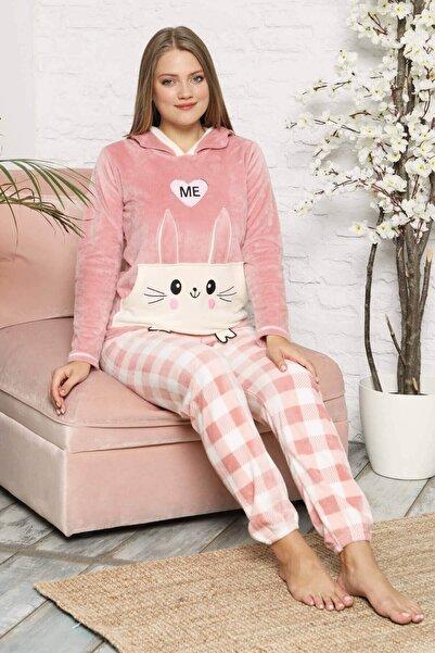 Mossta Kadın Pembe Pijama Takımı