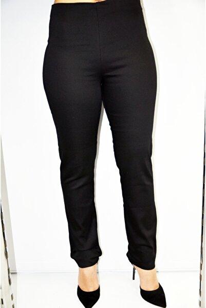 zeynep Kadın Siyah Yüksek Belli Pantolon
