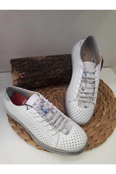 Pierre Cardin Kadın Beyaz Casual Ayakkabı Pc-50062
