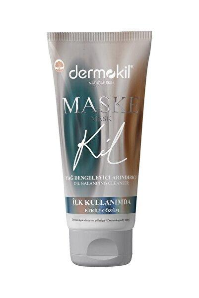 Dermokil Natural Skin Yağ Dengeleyici Ve Arındırıcı Maske 75 Ml