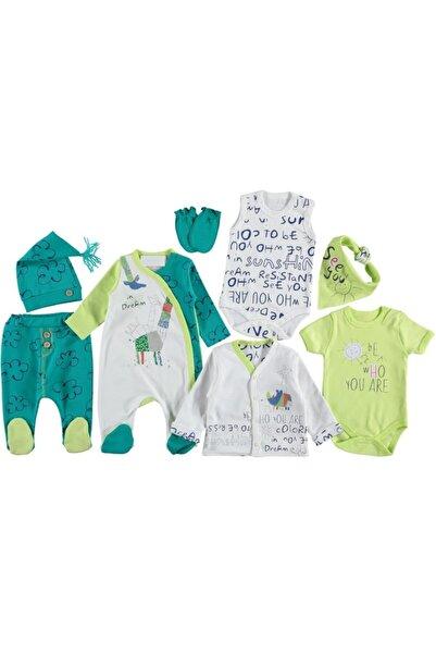 İmaj Unisex Bebek Yeşil Origami 8'li Hastane Çıkışı