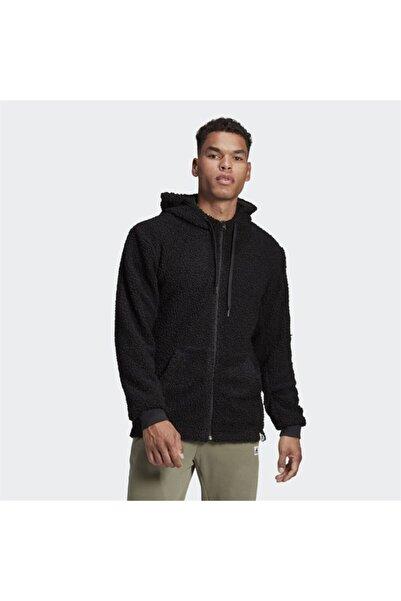 adidas Erkek Siyah Basics Hd Tt Sherpa  Sweatshirt