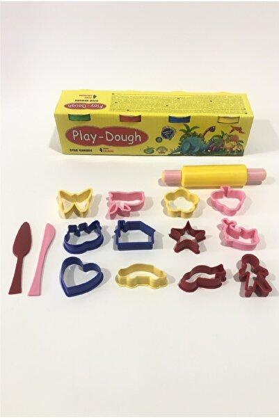 Play Dough Oyun Hamuru Ve Oyun Hamuru Kalıbı Seti 450 gr 4