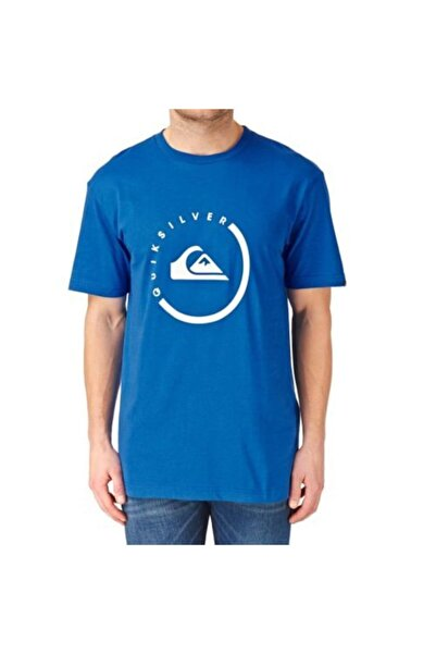 Quiksilver Erkek Mavi T-shirt