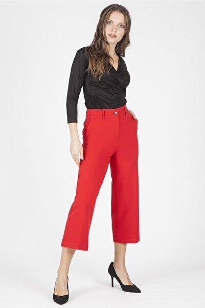 Chima Kadın Kırmızı Pantolon