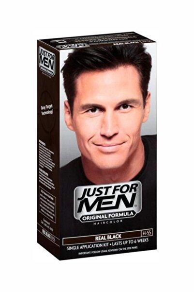 Just For Men Real Siyah Saç Boyası H-55