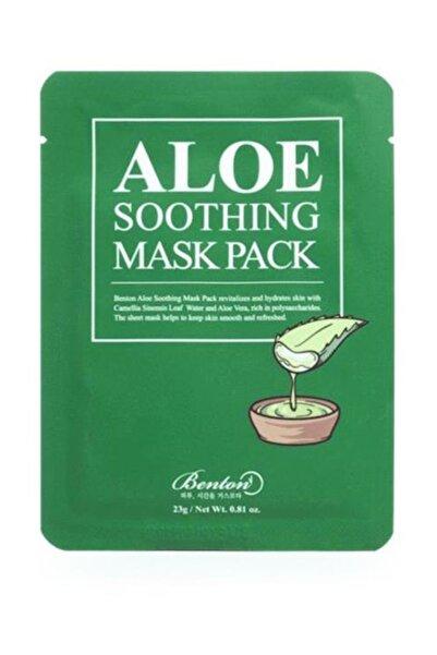 Benton Aloe Soothing Mask Pack - Aloe Yatıştırıcı Kağıt Maske