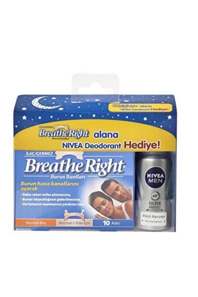 Breathe Right Burun Bandı Normal Boy Nivea Men 35 Ml Deodorant Hediyeli