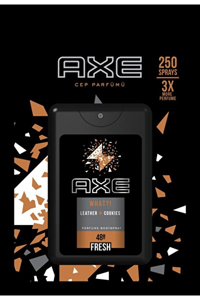 Axe Cep Parfümü Leather & Cookıes