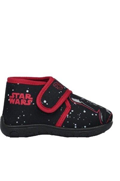 DISNEY Star Wars Lisanslı Siyah Erkek Çocuk Ev Ve Kreş Ayakkabısı