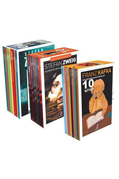 Aperatif Kitap Yayınları Stefan Zweig Serisi 1-2 Ve Franz Kafka 30 Kitap