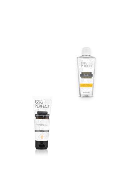 Huncalife Skin Perfect Zambak Özlü Aydınlatıcı Tonik 200 ml+beyaz Zambak Özlü Aydınlatıcı Yüz Kremi 75 ml