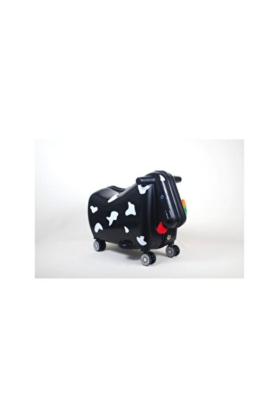 OXKIDS Ox Moo Çocuk Valizi - Siyah