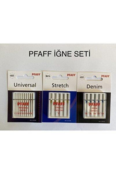 Pfaff Iğne Seti 3'lü Paket