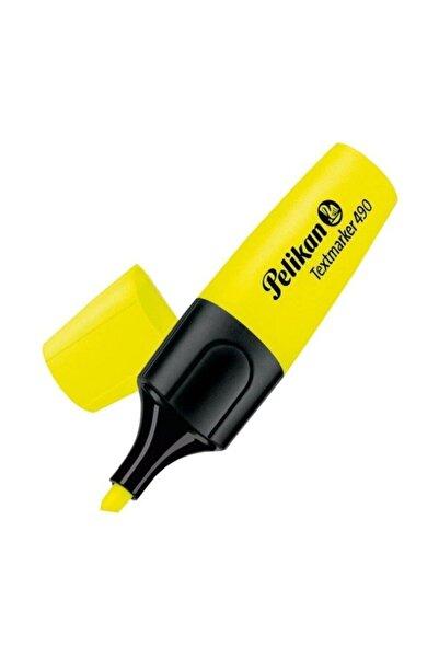Pelikan 490 Fosforlu Kalem Işaret Kalemi 1-5 Mm Sarı (10 Lu Kutu)