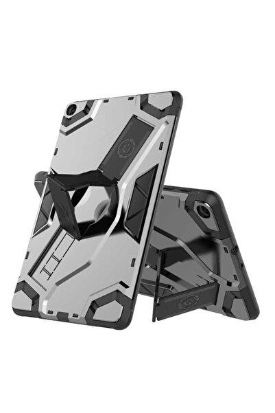 zore Galaxy Tab A 10.1 (2019) T510 Kılıf Zırhlı Standlı + Nano Cam
