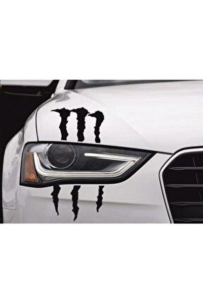 Far Için Monster Pençe Oto Sticker