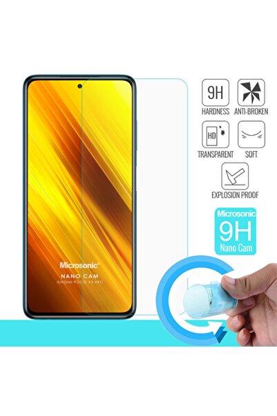Microsonic Xiaomi Poco X3 Nfc Nano Glass Cam Ekran Koruyucu