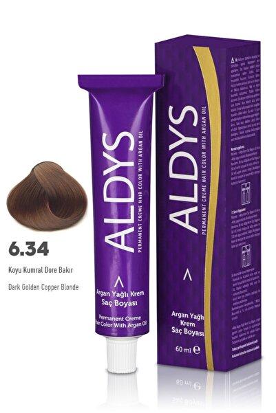Aldys Argan Yağlı Krem Saç Boyası