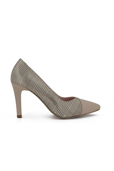 Hobby Kadın Ten Stiletto Kadın Ayakkabı 685