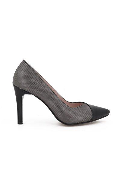 Hobby Kadın Siyah Stiletto Kadın Ayakkabı 685